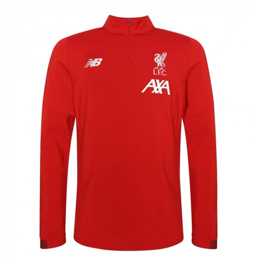 2019-2020 Liverpool On Pitch Midlayer Top (Red)