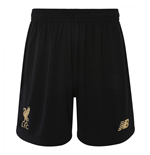 2019-2020 Liverpool Home Goalkeeper Shorts (Black)