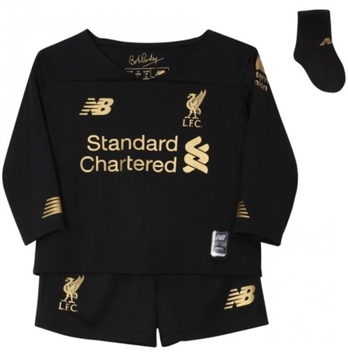 2019-2020 Liverpool Home Goalkeeper Baby Kit
