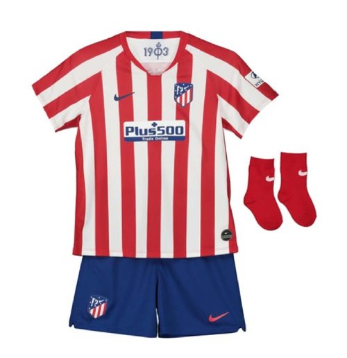 2019-2020 Atletico Madrid Home Nike Baby Kit