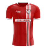 2019-2020 Aberdeen Home Concept Football Shirt