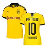 2019-2020 Borussia Dortmund Home Ladies Puma Shirt (Your Name)