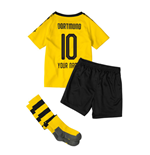 2019-2020 Borussia Dortmund Home Little Boys Mini Kit (Your Name)