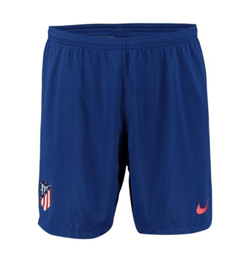 2019-2020 Atletico Madrid Home Nike Football Shorts (Blue)