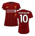 2019-2020 Liverpool Home Ladies Football Shirt (Your Name)
