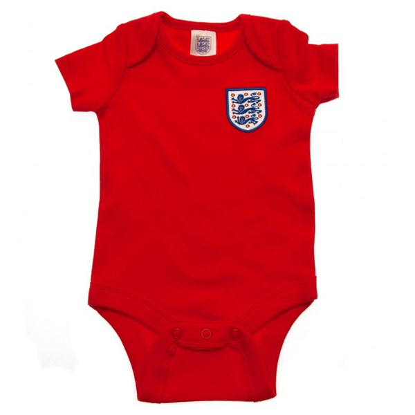 England F.A. 2 Pack Bodysuit 0/3 mths