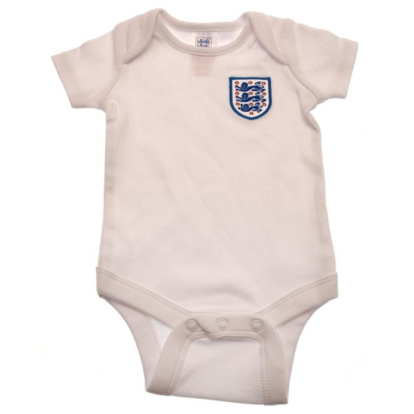 England F.A. 2 Pack Bodysuit 6/9 mths