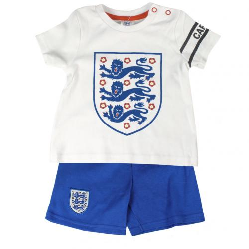 England F.A. T Shirt & Short Set 3/6 mths