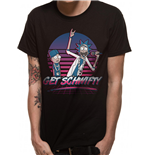 Rick And Morty - Get Scwifty Sunset - Unisex T-shirt Black
