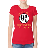 Harry Potter - 9 And 3 Quarters - Women Fitted T-shirt Red