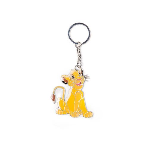 The Lion King Metal Keychain Simba