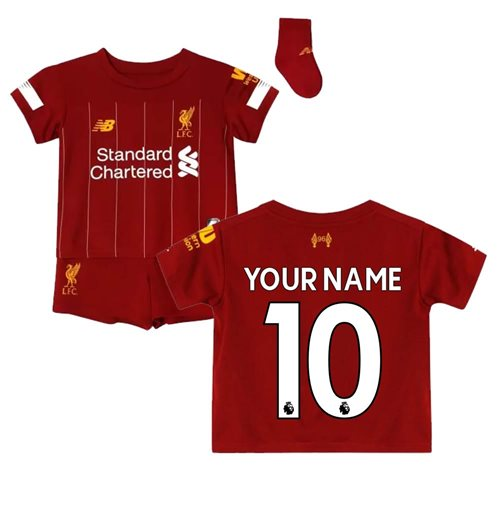 2019-2020 Liverpool Home Baby Kit (Your Name)