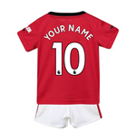2019-2020 Man Utd Adidas Home Baby Kit (Your Name)
