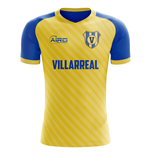 2019-2020 Villarreal Home Concept Football Shirt