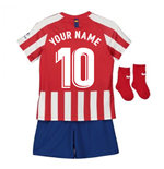 2019-2020 Atletico Madrid Home Nike Baby Kit (Your Name)