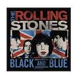 The Rolling Stones Standard Patch: Black & Blue (Retail Pack)