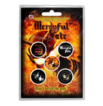 Mercyful Fate Button Badge Pack: Don't Break the Oath (Retail Pack)