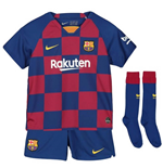 2019-2020 Barcelona Home Nike Little Boys Mini Kit