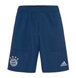 2019-2020 Bayern Munich Adidas Woven Shorts (Night Marine)