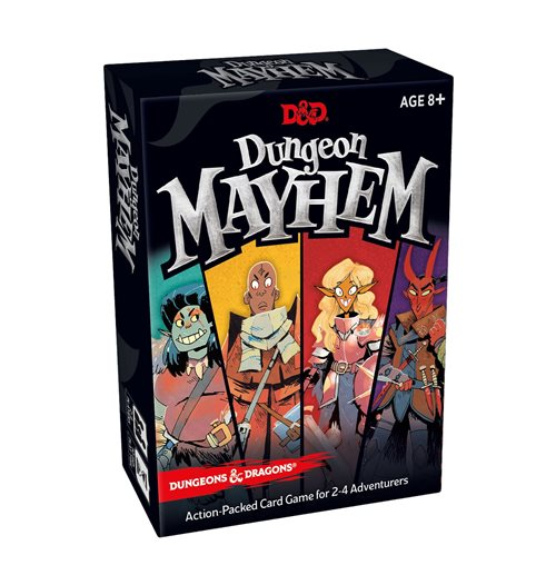 Dungeons & Dragons Card Game Dungeon Mayhem french