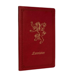 Game of Thrones Ruled Notebook Lannister