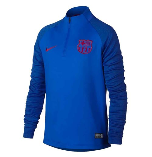 2019-2020 Barcelona Nike Drill Training Top (Blue) - Kids