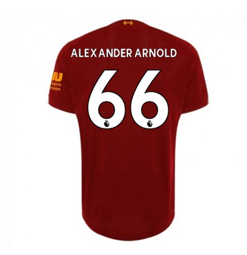 timeless design 0fa31 37a2b 2019-2020 Liverpool Home Football Shirt (Alexander-Arnold 66) - Kids