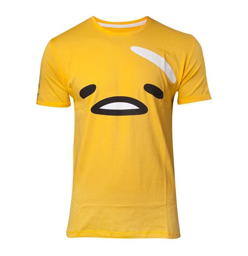 GUDETAMA The Face T-Shirt, Male, Yellow