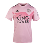 2019-2020 Leicester City Away Football Shirt (Pink)