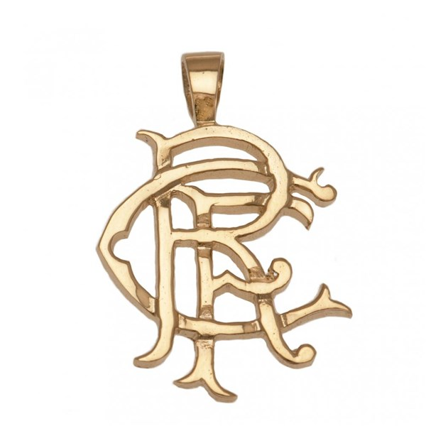 Rangers F.C. 9ct Gold Pendant Heavy Medium