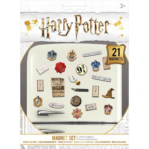 Harry Potter Fridge Magnet Set