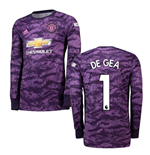 2019-2020 Man Utd Adidas Home Goalkeeper Shirt (DE GEA 1)