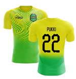 2019-2020 Norwich Home Concept Football Shirt (Pukki 22)
