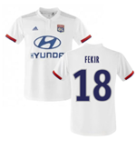 2019-2020 Olympique Lyon Adidas Home Football Shirt (FEKIR 18)