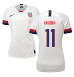 2019-2020 USA Home Nike Womens Shirt (Krieger 11)