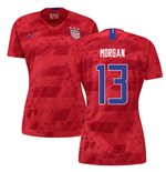 2019-2020 USA Away Nike Womens Shirt (Morgan 13)
