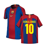 1998 Barcelona Celebration Nike Shirt (Kids) (RONALDINHO 10)