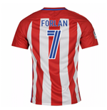 2016-17 Atletico Madrid Home Shirt (Forlan 7)