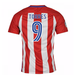 2016-17 Atletico Madrid Home Shirt  (Torres 9)