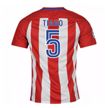 2016-17 Atletico Madrid Home Shirt  (Tiago 5)