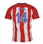 2016-17 Atletico Madrid Home Shirt  (Gabi 14)