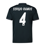 2018-19 Real Madrid Away Shirt (Sergio Ramos 4) - Kids