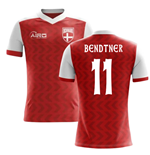 2018-2019 Denmark Home Concept Football Shirt (Bendtner 11)