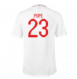 2018-2019 England Home Nike Football Shirt (Pope 23) - Kids