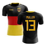 2018-2019 Germany Flag Concept Football Shirt (Muller 13) - Kids