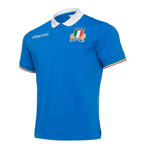 2018-2019 Italy Home Cotton Rugby Shirt