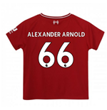 2018-2019 Liverpool Home Little Boys Mini Kit (Alexander Arnold 66)