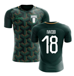 2018-2019 Nigeria Third Concept Football Shirt (Iwobi 18)