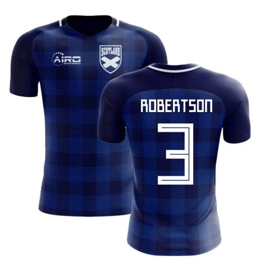 2018-2019 Scotland Tartan Concept Football Shirt (Robertson 3)