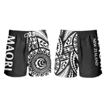 All Blacks Swim Shorts New Zealand Tribal